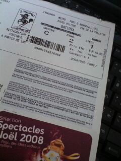 ZINGARO チケット